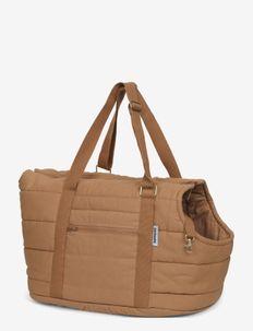 Dog bag carrier - koiran vaatteet - light brown