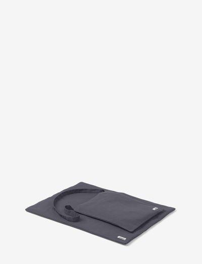 Duvet w bag - hundesenge - warm grey