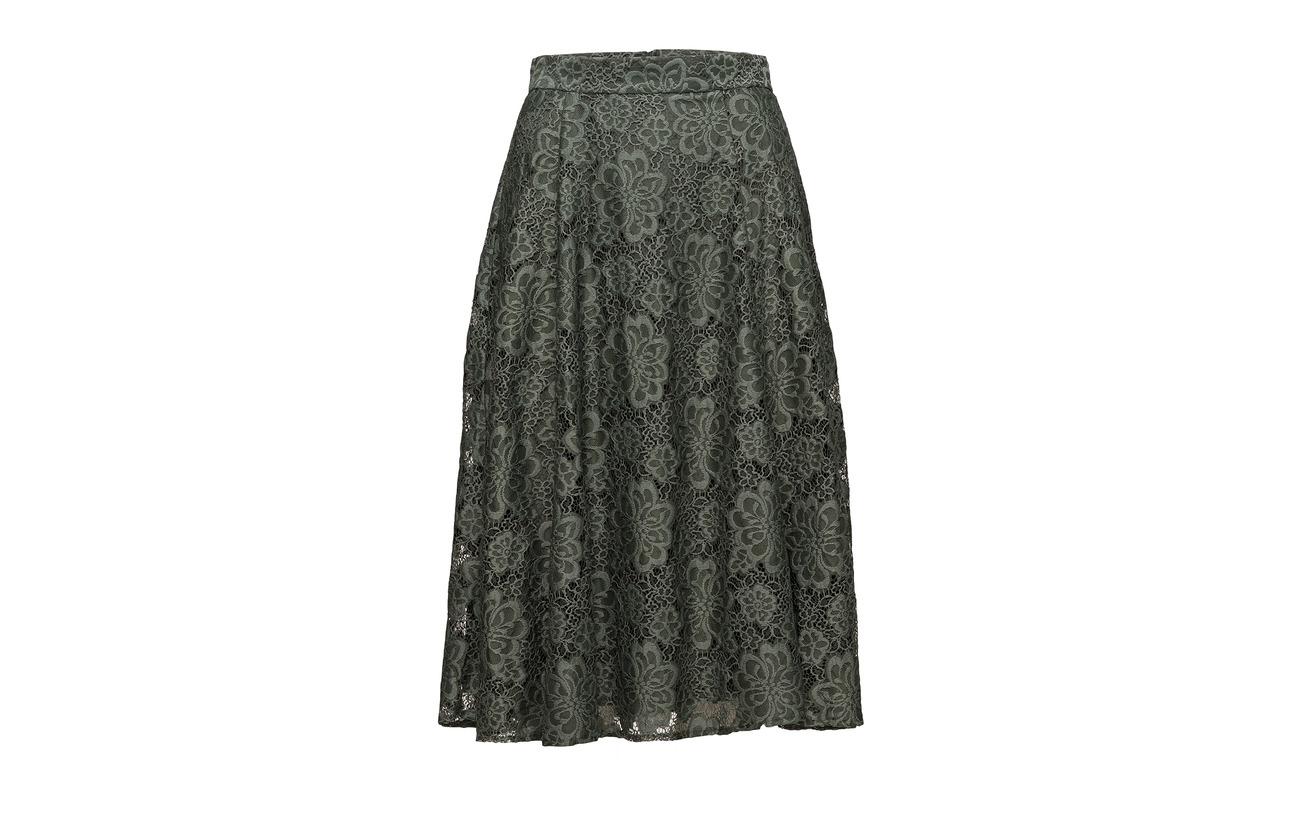 Taifun Fa Short Woven 28 Polyester Viscose Evergreen 72 Skirt ZtrRqt