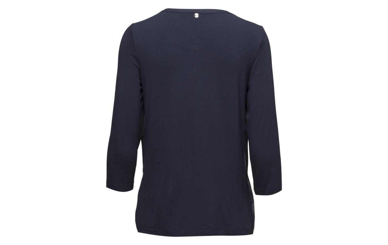 Elastane sleeve shirt 4 5 R Viscose 95 Ink Taifun T 3 wgqx5IvI