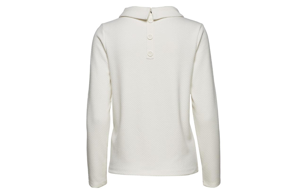 shirt Off sleeve white Long Taifun T 100 Viscose 58OvqwnSRx