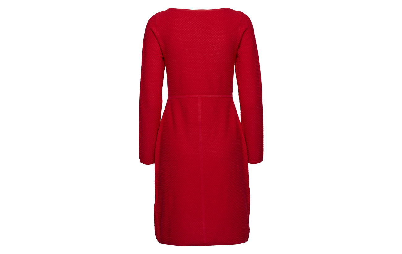 Elastane Taifun Red 20 Polyamide Poppy Polyester 19 41 Viscose Dress Knitwear va6xqrTSv