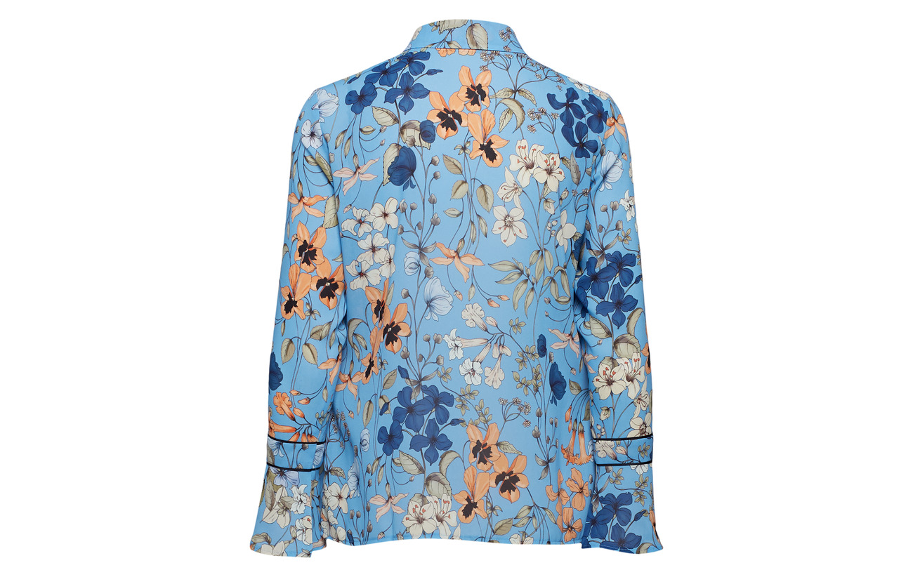 Allure Taifun Blouse 100 Long Polyester sleeve Patterned qwtPw6r