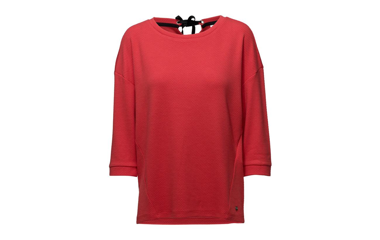 Coral T 32 3 Elastane 63 4 Taifun R shirt Viscose Polyester sleeve 5 AWTRn6qw
