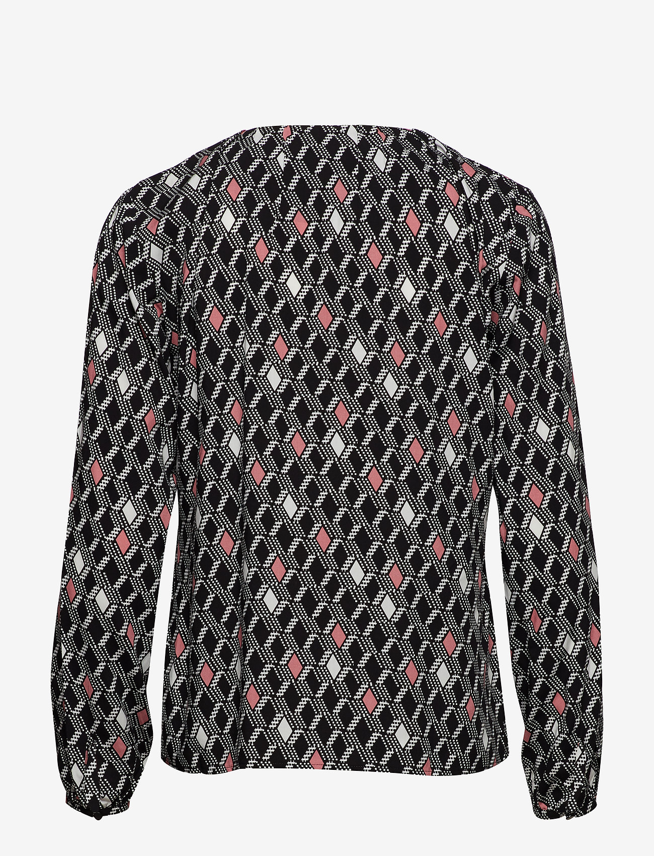 Taifun BLOUSE LONG-SLEEVE - Bluser & Skjorter BLACK PATTERNED - Dameklær Spesialtilbud