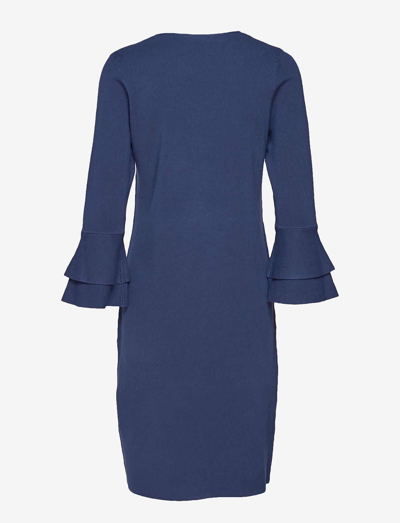 Taifun DRESS KNITWEAR - Kjoler PIGEON BLUE - Dameklær Spesialtilbud