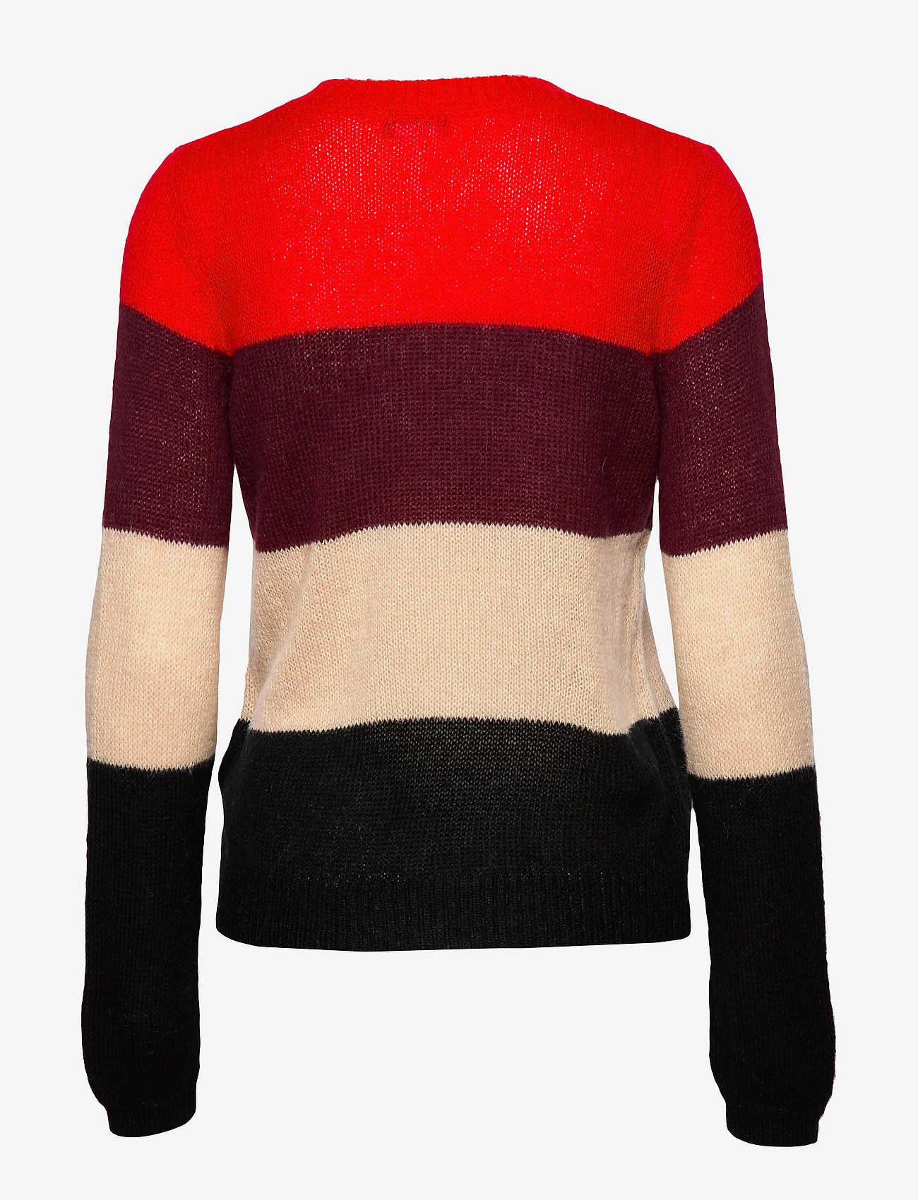 Taifun - PULLOVER LONG-SLEEVE - tröjor - lipstick red patterned - 1
