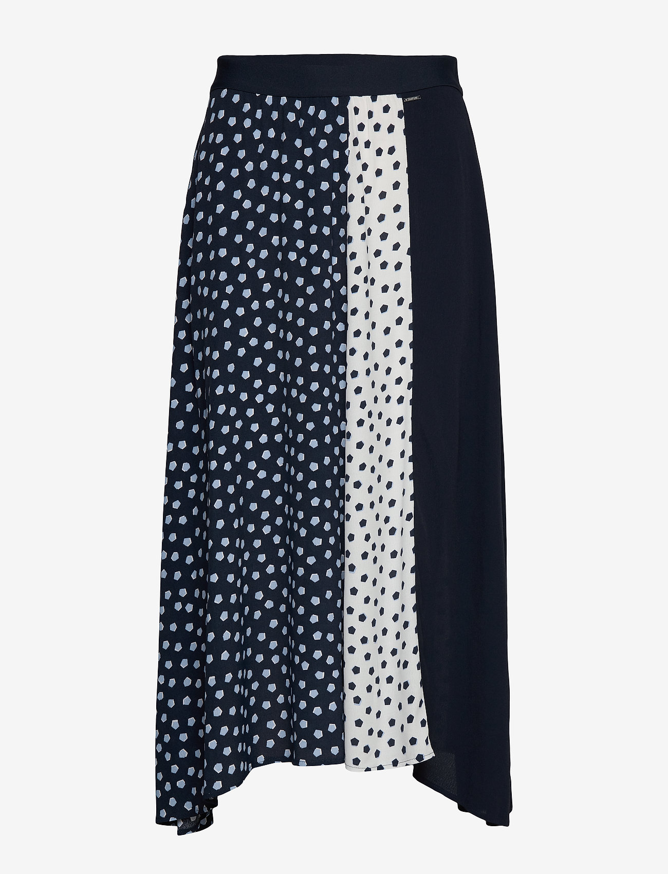 Taifun - SKIRT LONG WOVEN FAB - midi kjolar - blue shadow patterned - 0