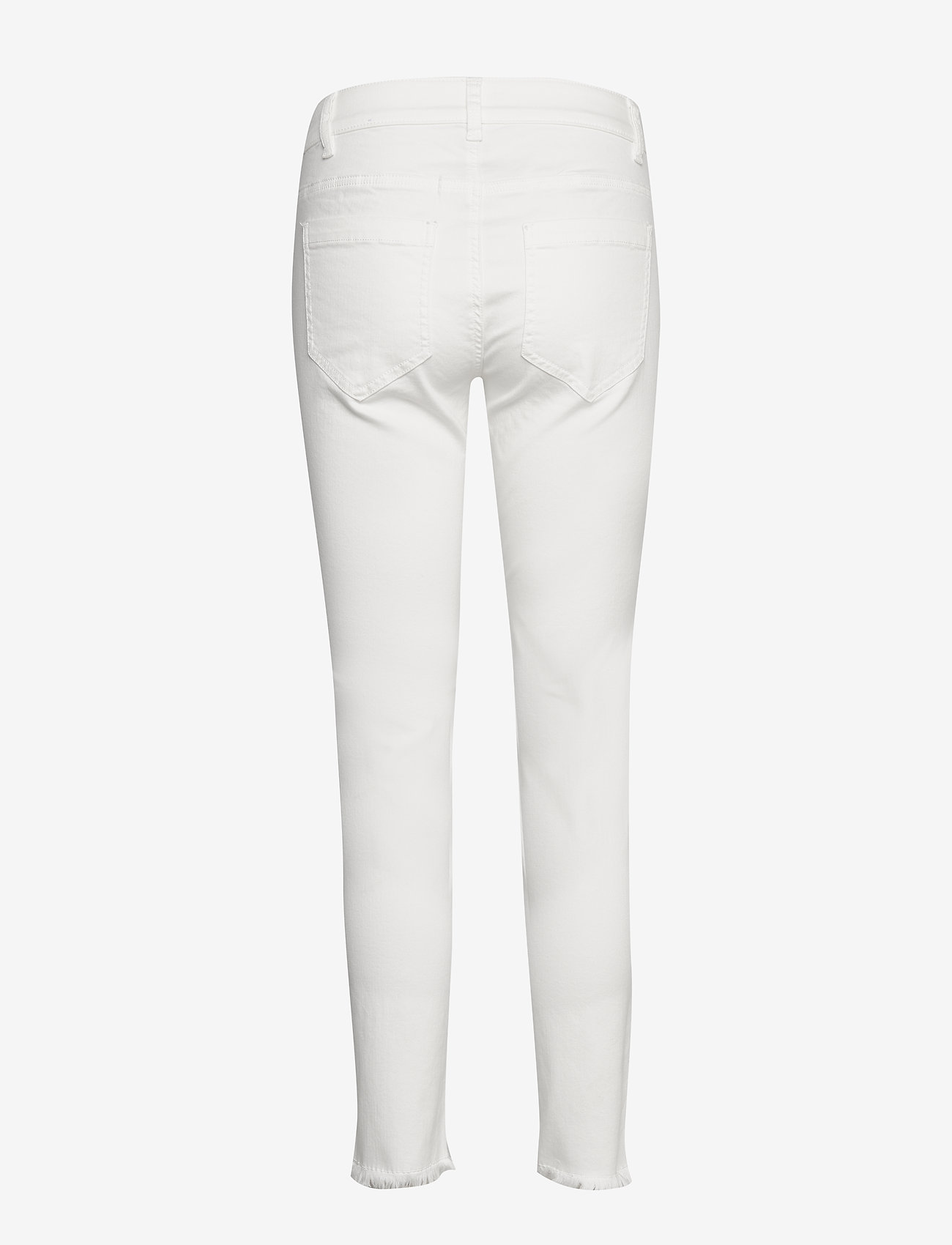 Taifun - CROP TROUSERS JEANS - skinny jeans - offwhite - 1