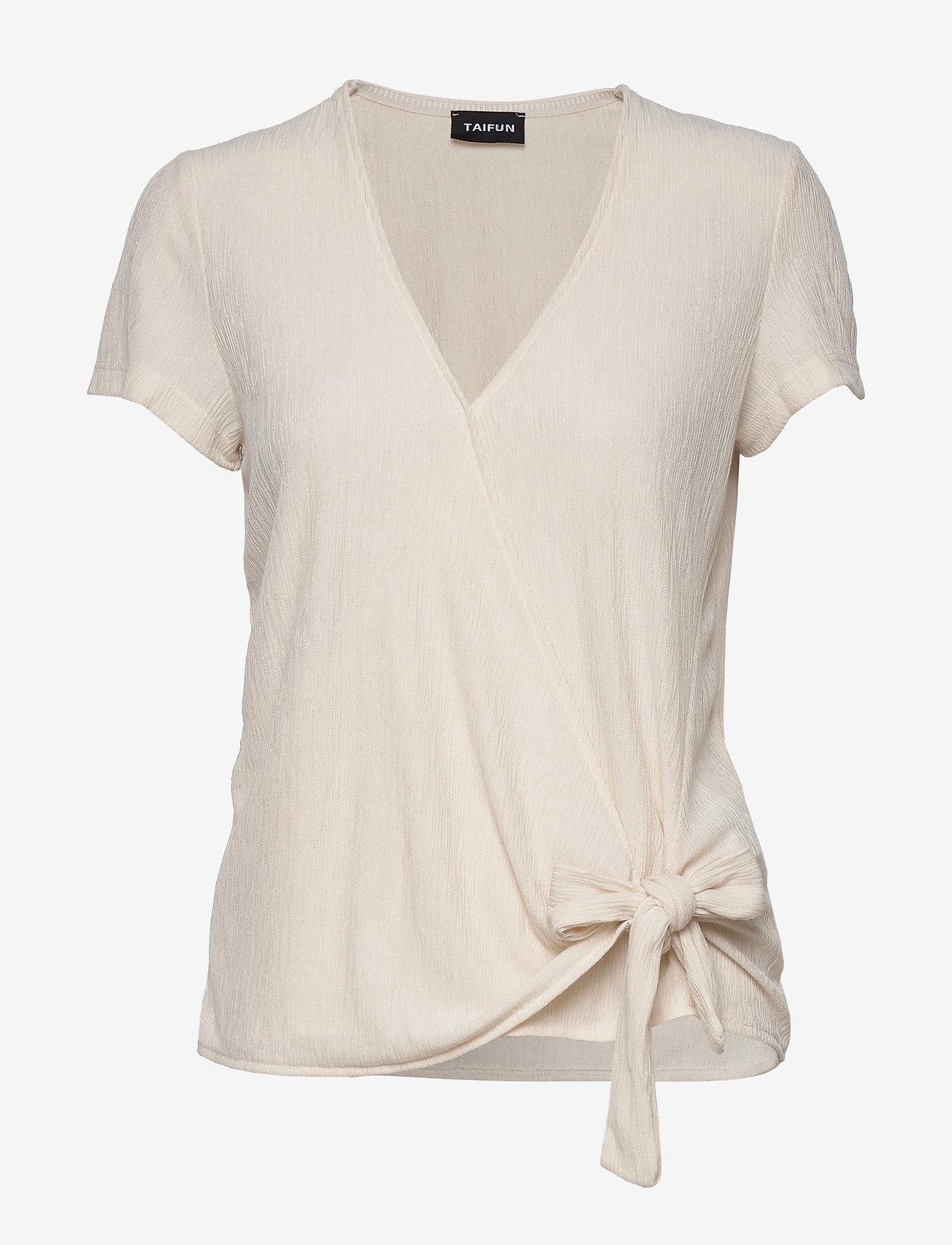 Taifun - T-SHIRT SHORT-SLEEVE - t-shirts - linen - 0