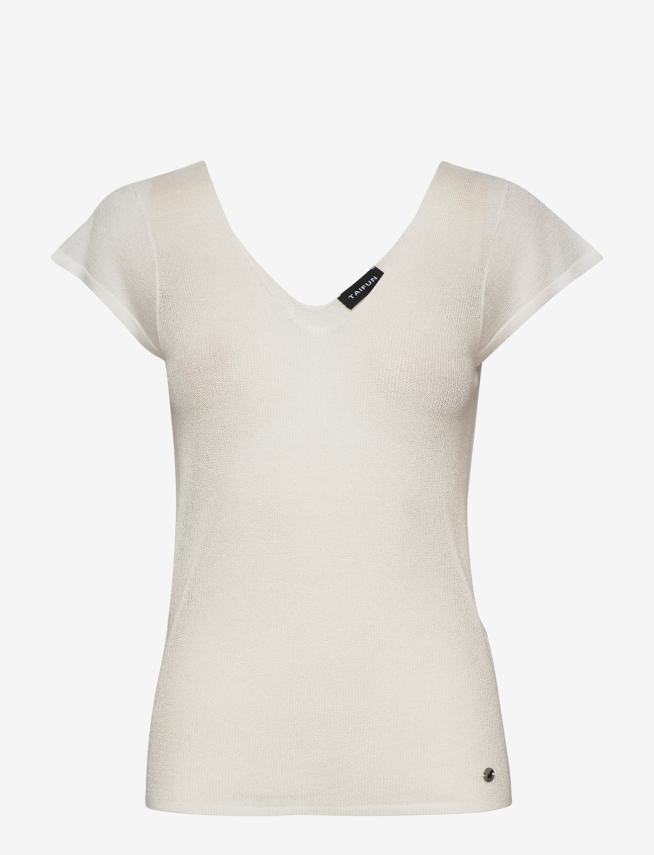 Taifun - TOP KNITWEAR - stickade toppar & t-shirts - offwhite - 0