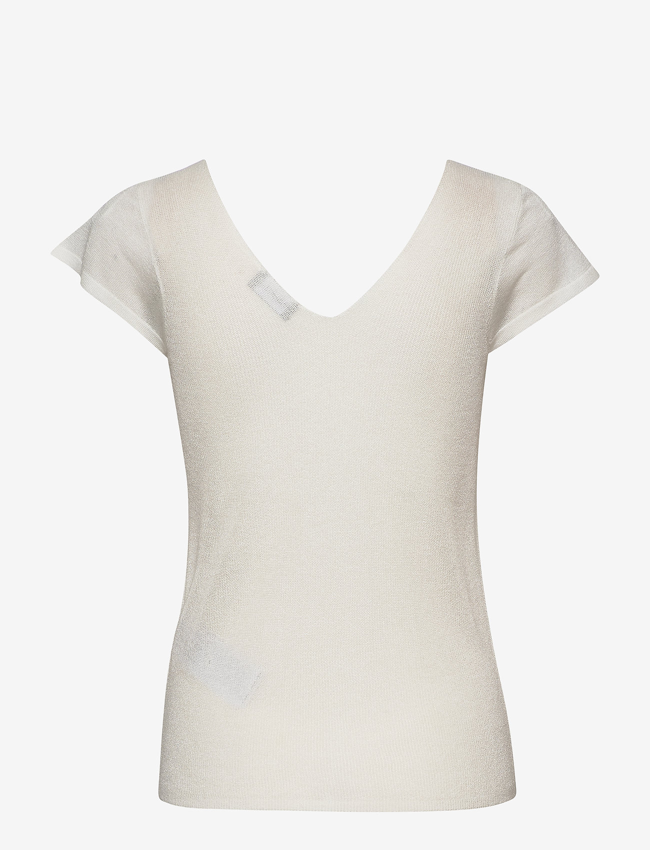 Taifun - TOP KNITWEAR - stickade toppar & t-shirts - offwhite - 1
