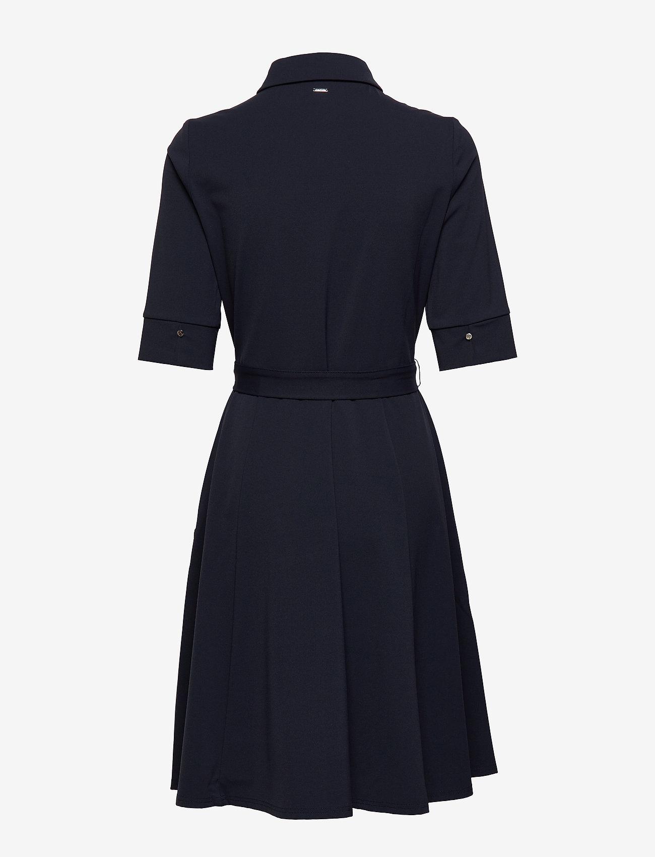 Taifun - DRESS WOVEN FABRIC - skjortklänningar - blue shadow - 1