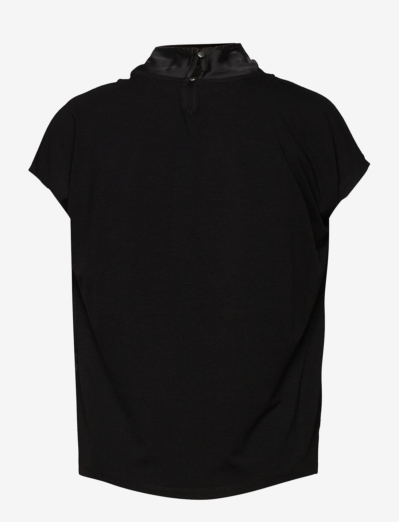 Taifun - T-SHIRT SHORT-SLEEVE - t-shirts - black - 1