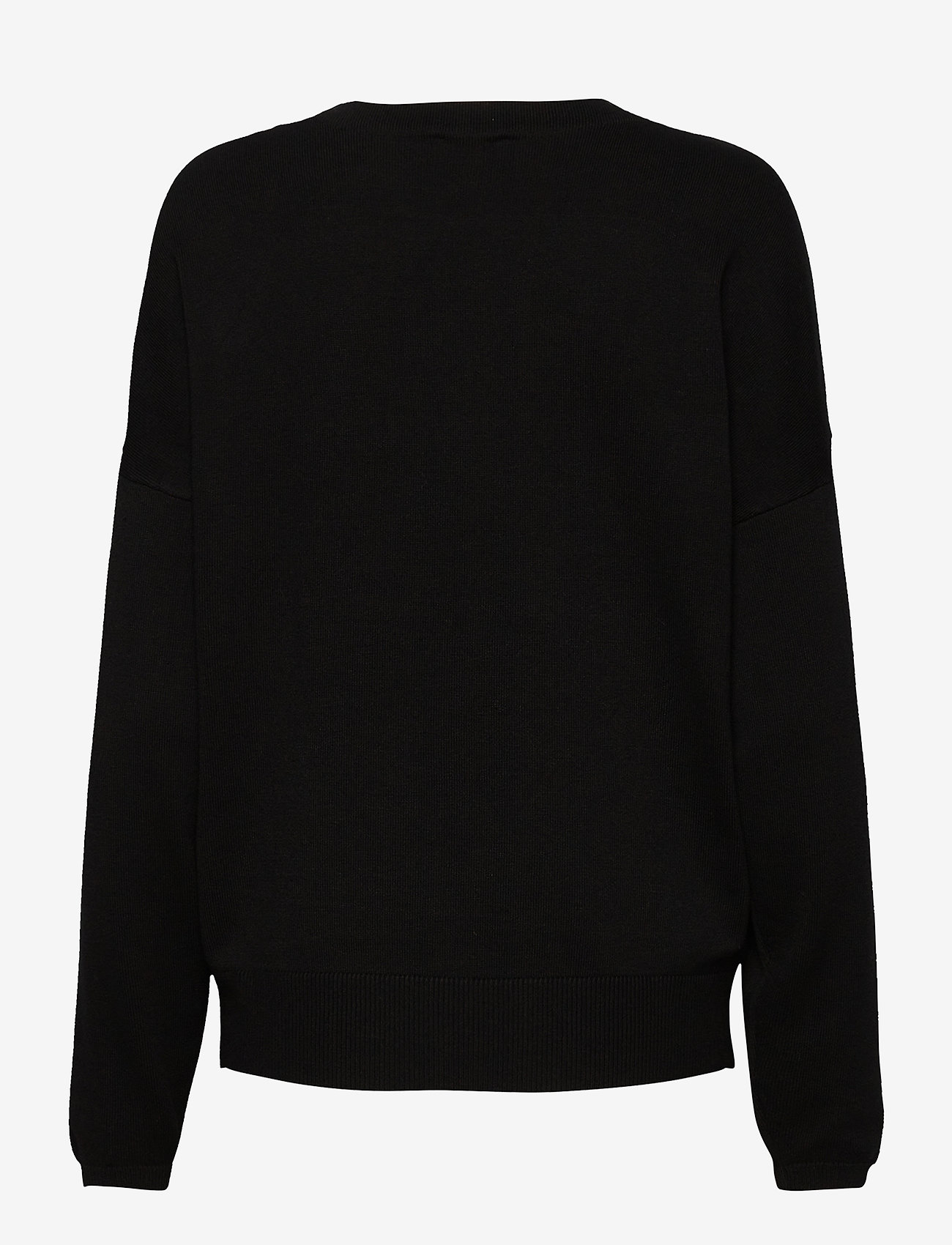 Taifun - PULLOVER LONG-SLEEVE - tröjor - black patterned - 1