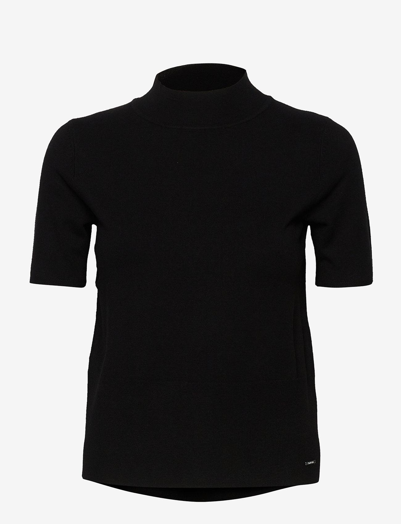 Taifun - PULLOVER 3/4-SLEEVE - stickade toppar & t-shirts - black - 0