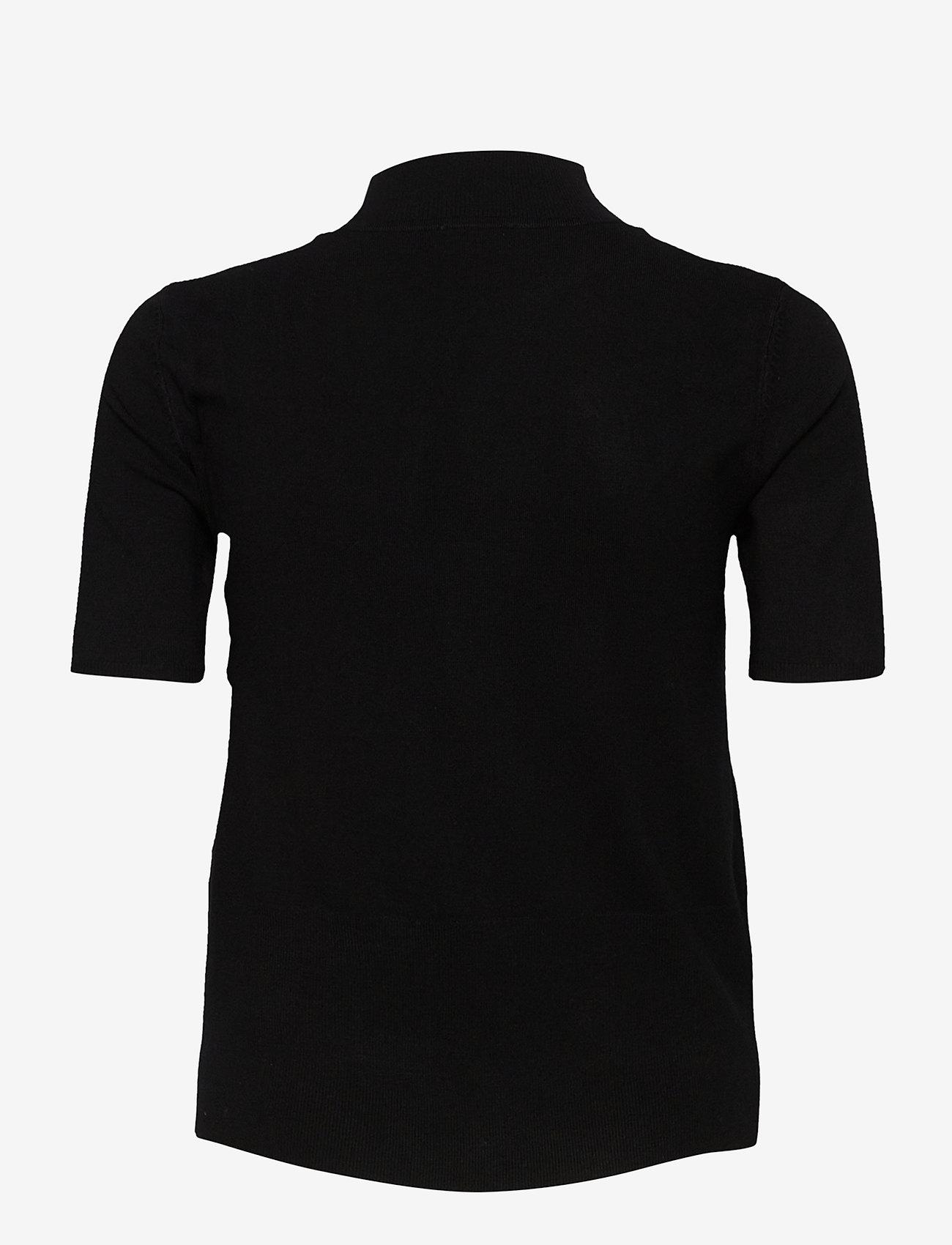 Taifun - PULLOVER 3/4-SLEEVE - stickade toppar & t-shirts - black - 1