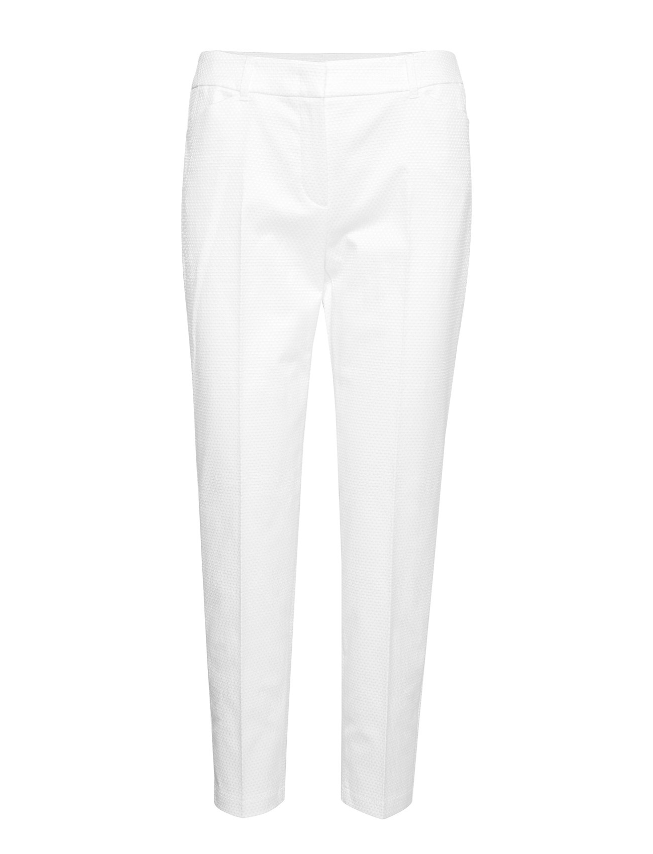 Taifun CROP LEISURE TROUSER - OFF-WHITE