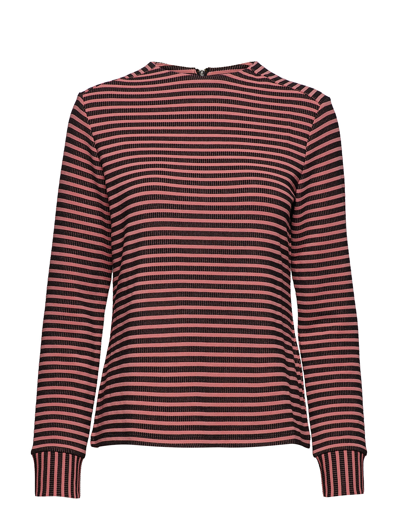 Taifun T-SHIRT LONG-SLEEVE - BLACK STRIPED