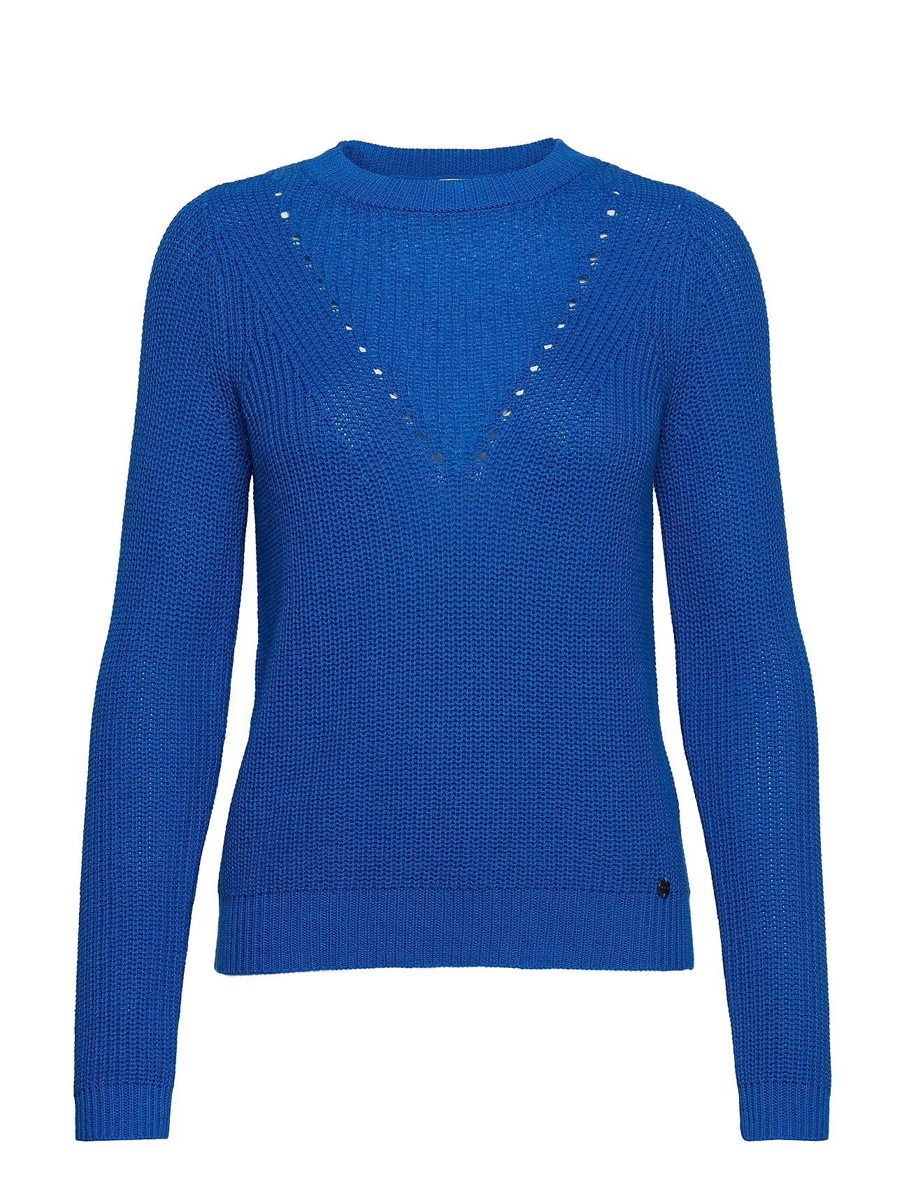 BlueTaifun Long sleevecobalt Pullover Pullover Long sleevecobalt e2EY9IWDH