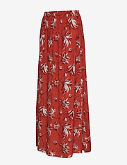 Taifun - SKIRT LONG WOVEN FAB - maxi skirts - terra patterned - 2