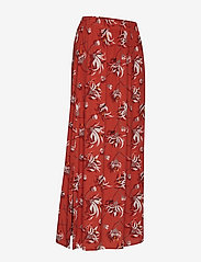 Taifun - SKIRT LONG WOVEN FAB - maxi skirts - terra patterned - 3