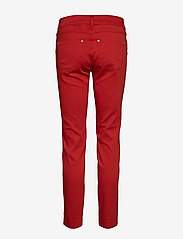 Taifun - CROP LEISURE TROUSER - straight leg trousers - spicy red - 1