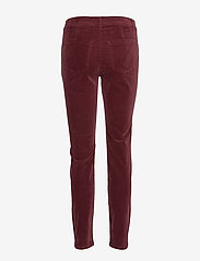 Taifun - LEISURE TROUSERS LON - raka byxor - ruby wine - 1