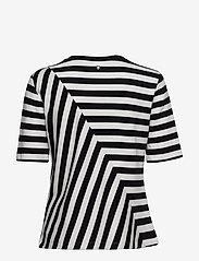 Taifun - T-SHIRT SHORT-SLEEVE - t-shirts - black patterned - 1
