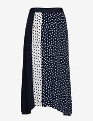Taifun - SKIRT LONG WOVEN FAB - midi kjolar - blue shadow patterned - 1