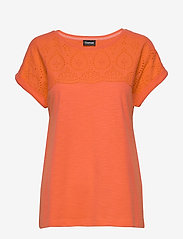 Taifun - T-SHIRT SHORT-SLEEVE - t-shirts - tigerlilly orange - 0