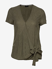 Taifun - T-SHIRT SHORT-SLEEVE - t-shirts - soft khaki - 0