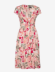 Taifun - DRESS WOVEN FABRIC - midiklänningar - apricot blush patterned - 1