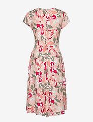 Taifun - DRESS WOVEN FABRIC - midiklänningar - apricot blush patterned - 2