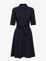 Taifun - DRESS WOVEN FABRIC - skjortklänningar - blue shadow - 0