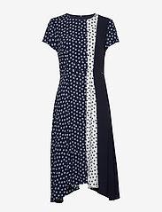 Taifun - DRESS WOVEN FABRIC - midiklänningar - blue shadow patterned - 0