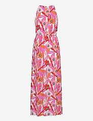 Taifun - DRESS WOVEN FABRIC - maxiklänningar - pink sugar patterned - 1