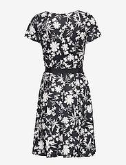 Taifun - DRESS KNITTED FABRIC - korta klänningar - navy patternd - 1