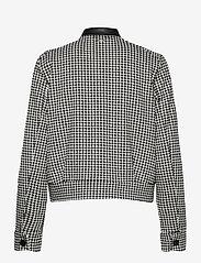 Taifun - JACKET KNIT FABRICS - wool jackets - black patterned - 1