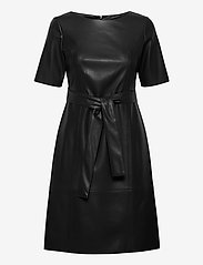 Taifun - DRESS WOVEN FABRIC - midiklänningar - black - 0