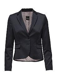 BLAZER LONG-SLEEVE - INK PATTERNED