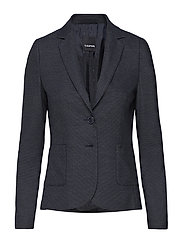 BLAZER LONG-SLEEVE - NAVY PATTERNED