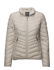 OUTDOOR JACKET NO WO - IVORY