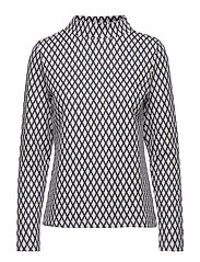T-SHIRT LONG-SLEEVE - MICRO CHIP PATTERNED