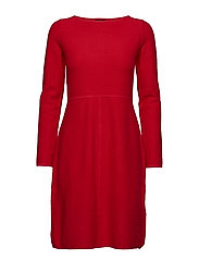 DRESS KNITWEAR - POPPY RED