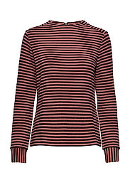T-SHIRT LONG-SLEEVE - BLACK STRIPED