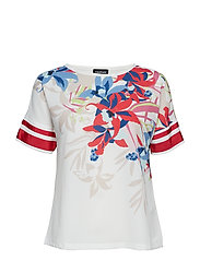 T-SHIRT SHORT-SLEEVE - OFF-WHITE PATTERNED