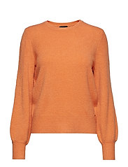 PULLOVER LONG-SLEEVE - MUSKMELON
