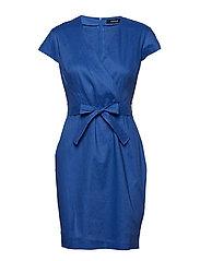 DRESS WOVEN FABRIC - TRUE BLUE