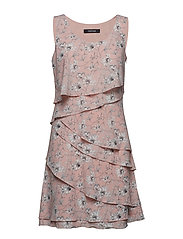 DRESS WOVEN FABRIC - PEARL BLUSH PATTERNED